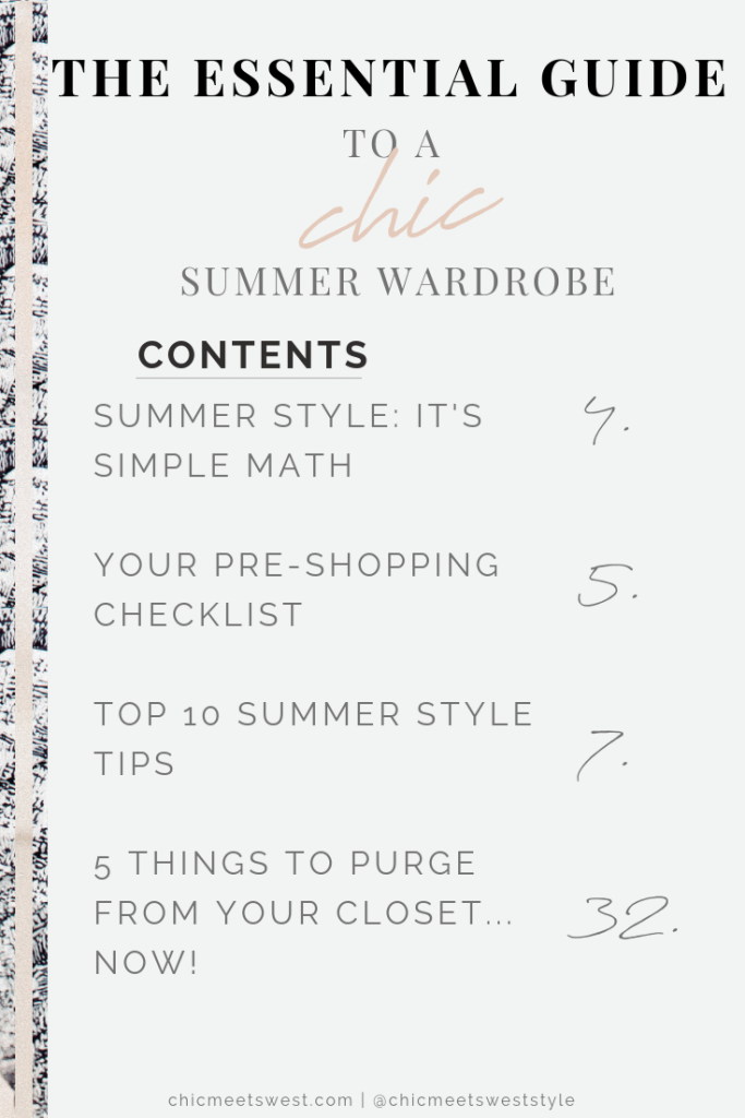 Chic Summer Wardrobe 5