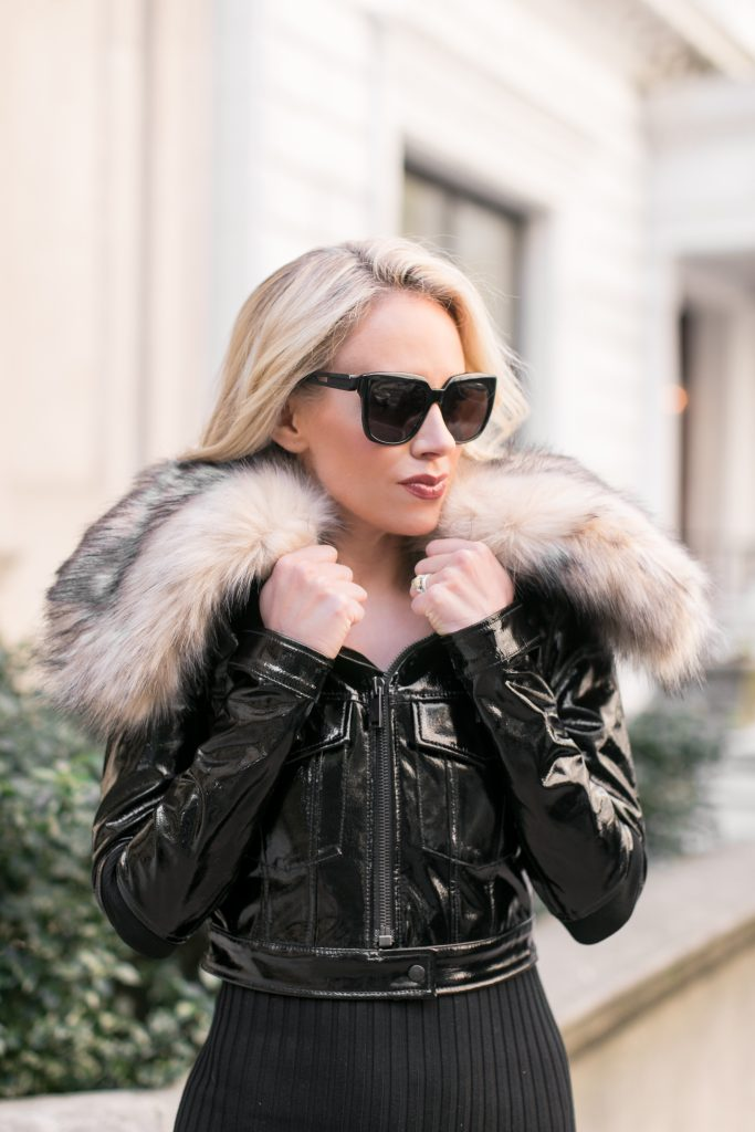 Winter fashion tips and tricks to wear faux fur.