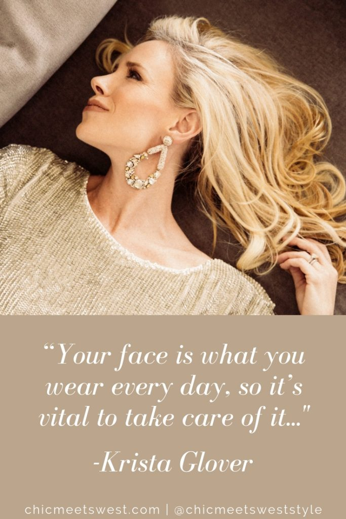 Take care of your face quote.