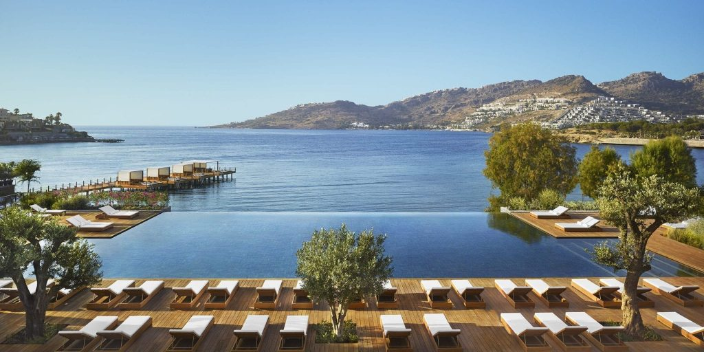 id you know there is a Turkish Riviera? And it's stunning! Just last year, Edition Hotels opened The Bodrum EDITION. The 108-room hotel is
