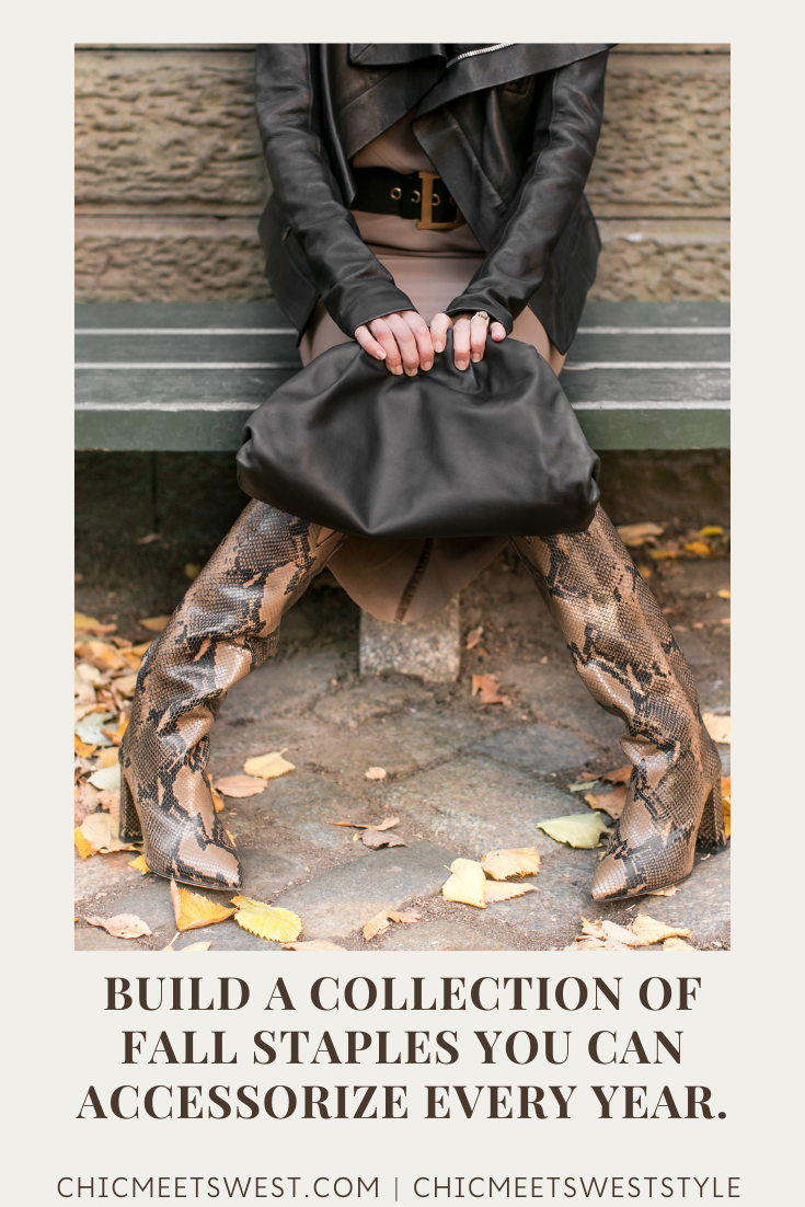 Build a collection of fall staples you can accessorize every year.