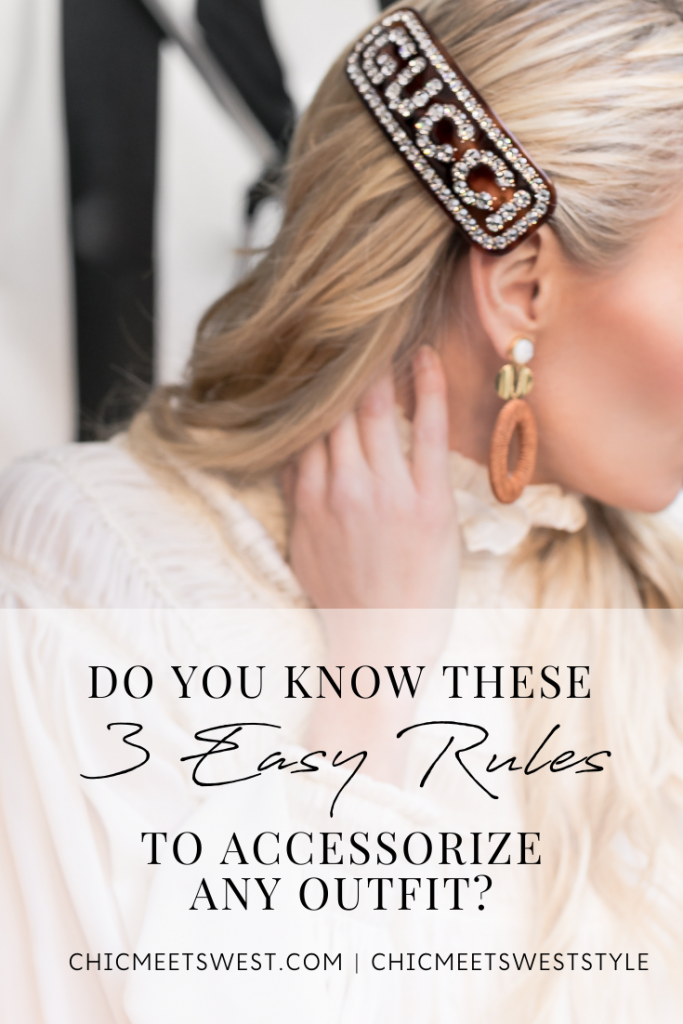 How to accessorize any outfit.