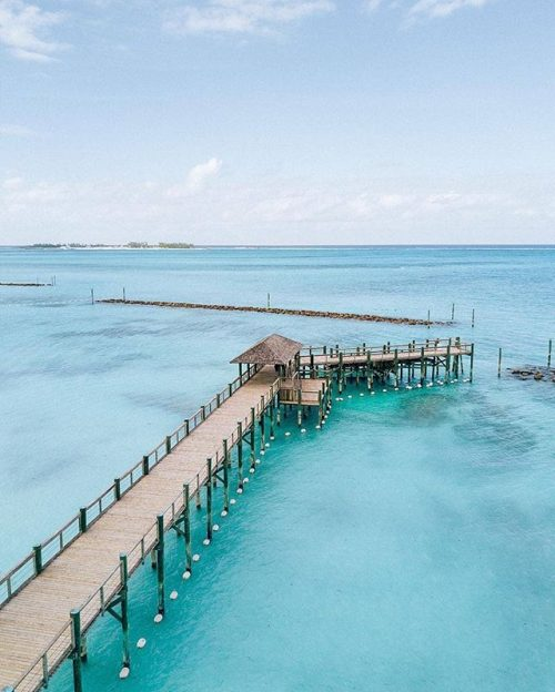 Endless turquoise waters... just waiting to be discovered. Photo by @bahamarresorts #RWJourneys #RosewoodHotels #RosewoodBahaMar